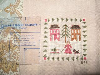 Go to www.blueribbondesigns.com for more info on the Stitch Starter