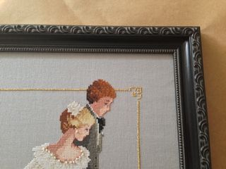 Corner close up wedding gift