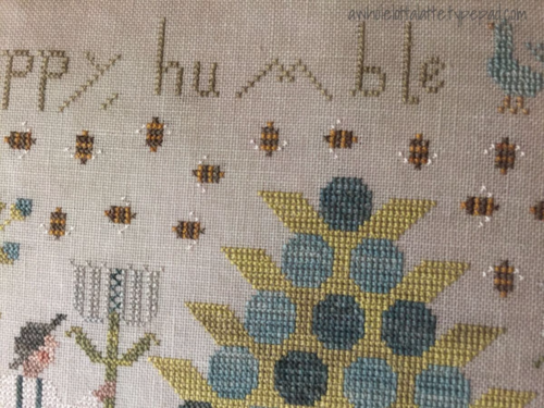 With Thy Needle and Thread | Be Happy, Humble & Kind #crosstitch #needlework