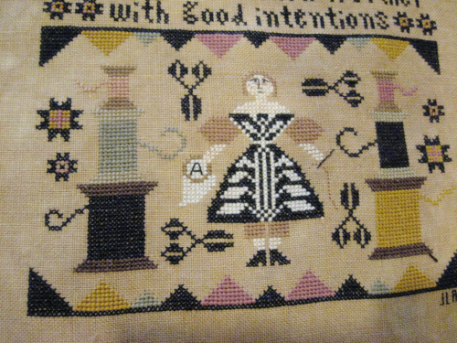 Good Intentions by Kathy Barrick #crossstitch #goodintentions