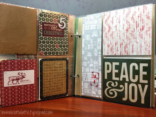 December Daily Days 5 & 6 foundation pages
