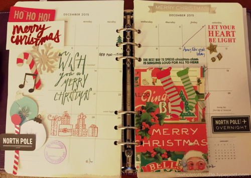 #Christmas #planner pages #filofax