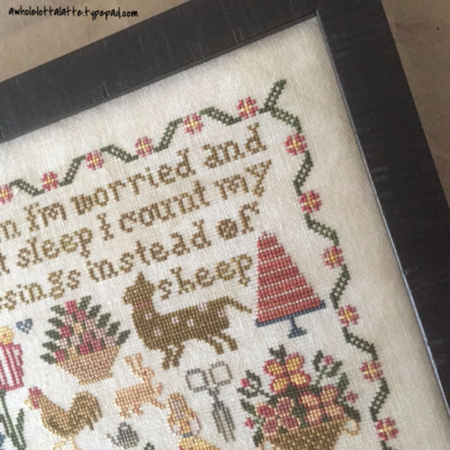 Count Your Blessings by Heartstring Samplery #crossstitch #needlework