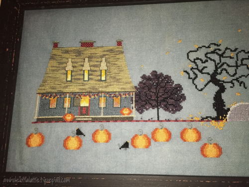 Cricket Collection Sleepy Hollow #crossstitch #halloween