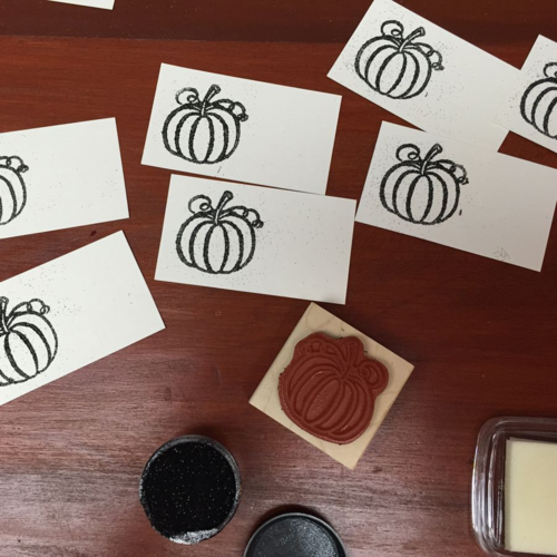 #placecards #babyshower #pumpkins @Paper_Source