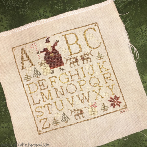 Letters to Santa #WithThyNeedleandThread #crossstitch #needle #thread