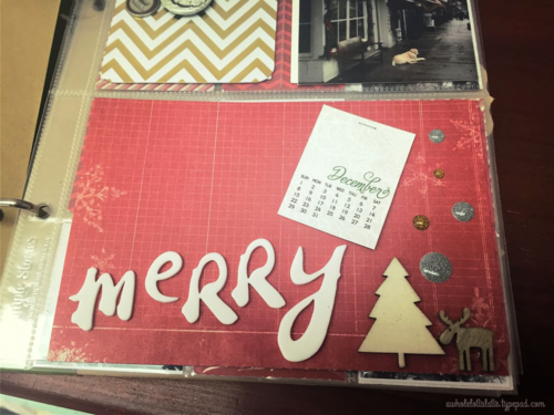 December Daily cover page
