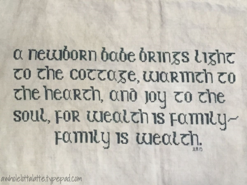 Irish Blessing #crossstitch #stitch