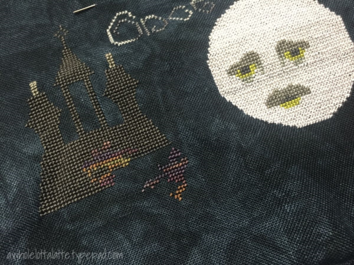 The Master and the Macabre | Cricket Collection #crossstitch #halloween #eapoe